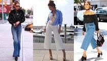 موديل الحذاء الذي يناسب كل شكل جينز