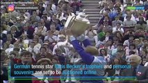 Tennis ace Boris Becker auctions trophies to pay off debts