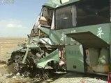 Fallecen 15 personas en un accidente de autobús en China