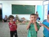 Medio millón de niños sin colegios, porque ahora son refugios