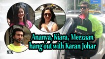 Ananya, Kiara, Meezaan hang out with Karan Johar