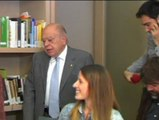 Jordi Pujol mantiene sus pertenencias en el despacho que le fue retirado.