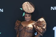 Lizzo's head-piece was 'hand-painted' an hour before BET Awards