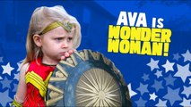 Justice League Movie Wonder Woman Gear Test - Toys Review for Kids by KIDCITY