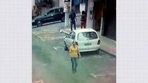 Mulher tem ataque de fúria e destrói carro do ex-marido em Cariacica