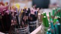 Savoir-faire : les secrets de confection du sac Louis Vuitton par l'artiste Jonas Wood - Atelier