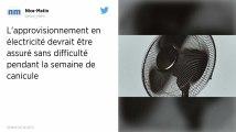 Canicule. Électricité: la France ne devrait pas connaître de problème d'approvisionnement