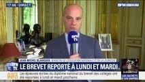 """Brevet des collèges reporté: Jean-Michel Blanquer ne veut pas de """"polémiques inutiles"""""""