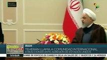 Exhorta pdte. iraní al mundo a reaccionar ante agresiones de EE.UU.