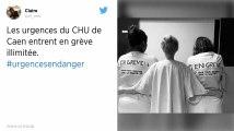 CHU de Caen : le service des urgences en grève illimitée