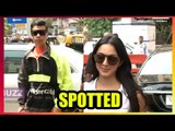 aran JoharK and Kiara Advani spotted at a restaurant in Bandra