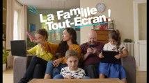 La famille tout écran - Les vrais jouets c'est mieux