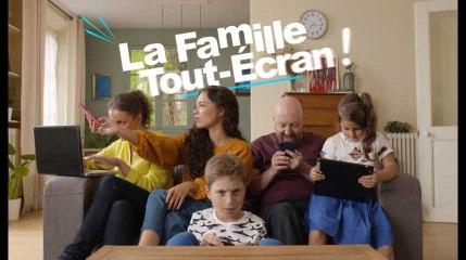 La famille tout écran - Attention à l'isolement