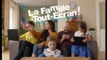 La famille tout écran - Faites attention à l'image de vos enfants sur Internet