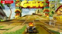 Crash Team racing - PSX Intro - video dailymotion