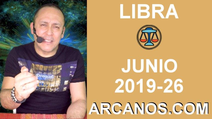HOROSCOPO LIBRA - Semana 2019-26 Del 23 al 29 de junio de 2019 - ARCANOS.COM