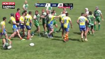 Rugby : Une violente bagarre générale éclate lors d'une finale (Vidéo)