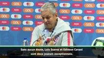 """Copa America - Rueda : """"Suarez et Cavani sont deux joueurs exceptionnels"""""""