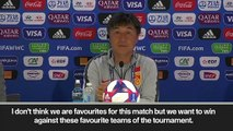 (Subtitled) 'We can do better' says Jia Xiuquan as they face Italy in Round of 16