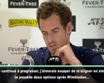 Queen's - Murray évoque la possibilité de rejouer en simple à l'US Open !
