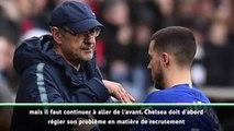 Chelsea - Desailly minimise les départs de Sarri et Hazard