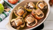 S'mores Stuffed Apples Couldn't Be More Chocolatey