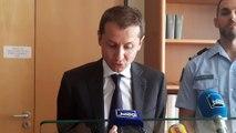 Le procureur de la Republique d'Épinal, Nicolas Heitz, s'exprime après le meurtre d'un trentenaire de Châtel-sur-Moselle