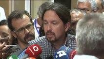 """Iglesias, sobre el PSOE: """"No vamos a entrar en una dinámica de partido de ping-pong a través de los medios"""""""