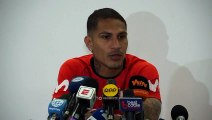 Peru's Guerrero 'denies' problems among the players after training in Sao Paolo