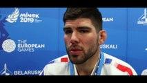 """Jeux européens Minsk 2019 - Cyrille Maret : """"Pas dans mes gênes de lâcher"""""""