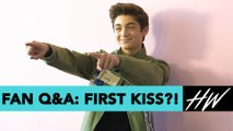 Asher Angel Admits Selena Gomez Is His Celeb Crush and Spills Details On His FIRST KISS!