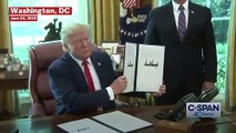 Trump Signs Executive Order Imposing New Sanctions On Iran