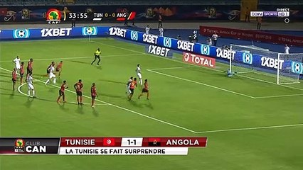 CAN 2019 : Tunisie - Angola