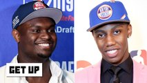 Which rookie is under the most pressure? Jalen says Zion, Greenberg picks RJ Barrett - Get Up
