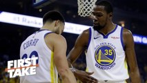 The Warriors need KD more than the Knicks, Nets, Clippers – Max Kellerman - First Take