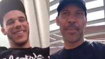Lonzo Ball FAKES Being Happy About Trade While Lavar Blasts Molly Qerim For Taking His Comment Sexually
