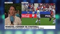 Mondial-2019 : France - USA : Les Américaines souffrent, mais rejoignent les Bleues en quart