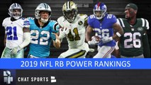 NFL RB 2019 Power Rankings: All 32 Starting Running Backs - Ranking Them From Worst To First