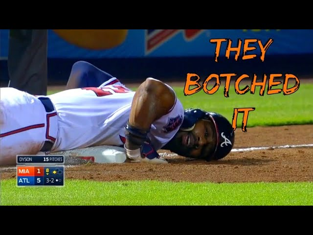 MLB Botched Rundowns