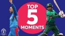Nabi? Shakib? - Bangladesh v Afghanistan - Top 5 Moments - ICC Cricket World Cup 2019