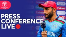 Post Match Press Conference Bangladesh v Afghanistan - ICC Cricket World Cup 2019