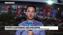 CAN-2019 : Bousculée, la Côte d'Ivoire s'en sort face à l'Afrique du Sud