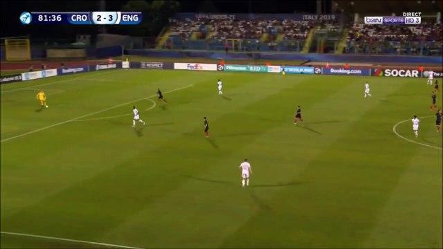 Croatia U21 [3]-3 England U21 - Josip Brekalo