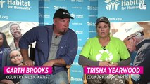 Garth Brooks And Trisha Yearwood Talk Partnership With Habitat For Humanity