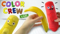 Learn Colors With Fruits for Kids - Color Crew LIVE Plush Toys - Videos for Children by BabyFirst