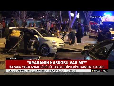 """Trafik Kazası Yapan Sürücü """"Arabada Kasko Var mı?"""" Diye Sordu"""