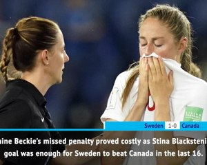 FOOTBALL: FIFA Women's World Cup: Fast Match Report - Sweden 1-0 Canada