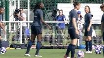 Lentraînement des Bleues en replay (lundi 24 juin) - Équipe de France Féminine I FFF 2019