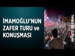 İmamoğlu'nun Zafer Turu ve Erdoğan'a Teşekkürü