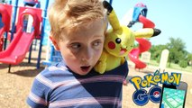 Pokemon Go in Real Life   Hunting Pokemon Toys Game by KID CITY